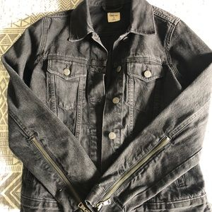 GAP 1969 Black Denim Jacket
